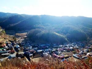 藤沢城展望東側の保科古屋敷