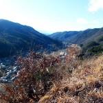 藤沢城展望南側高遠方面