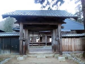 樹林寺の総門