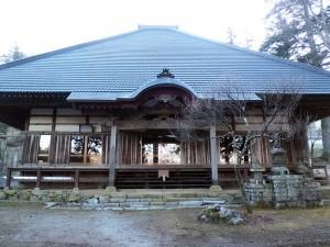樹林寺本堂