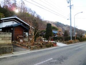 藤沢御堂垣外の古い町並み