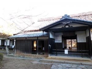 高遠藩の藩校進徳館の建物