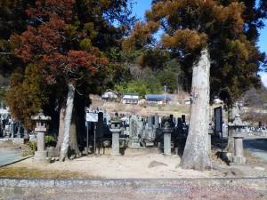 保科家と武田氏の墓域