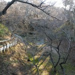 桜雲橋下の空堀