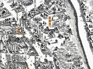 成就寺俯瞰地図