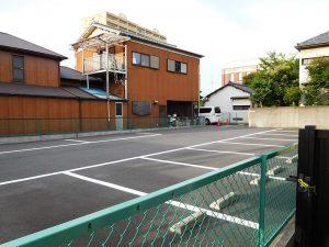 八劔八幡神社専用駐車場