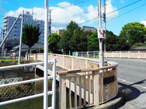 山崎公園と君津橋