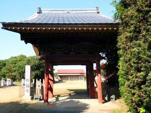 西小笹妙福寺山門