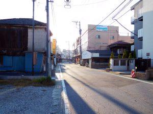 紺茂跡から志摩屋を望む田面通り