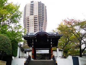 麻布山善福寺勅使門