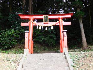 波岡下烏田熊野神社鳥居